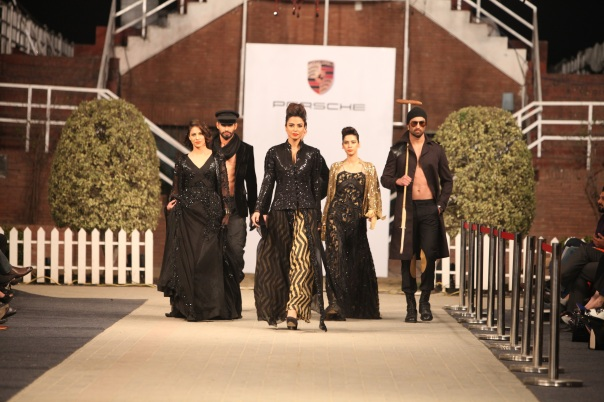 HSY at Porsche Polo Diaries Fashion Show. A multi-designer collection paying tribute to the historical game of Polo.