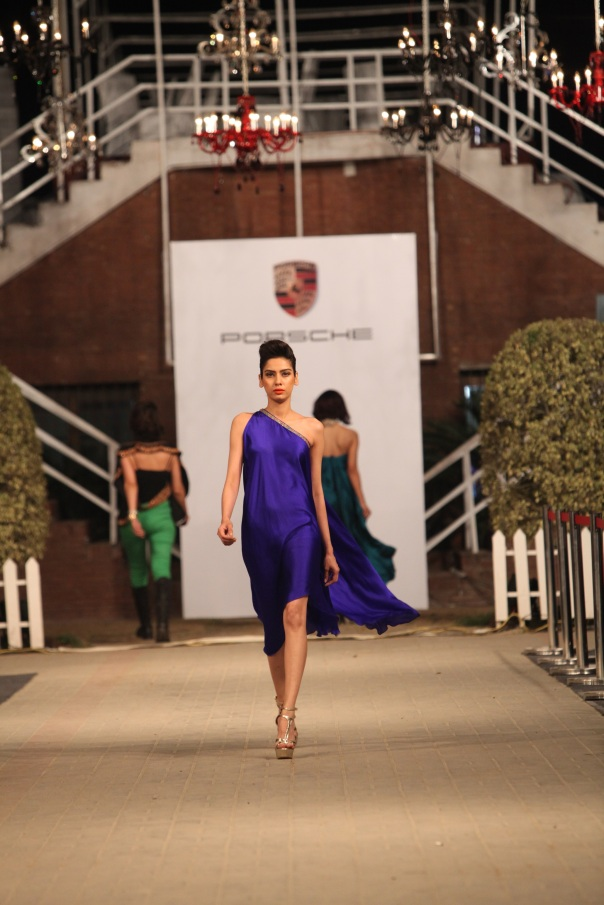 Sonya Batla at Porsche Polo Diaries Fashion Show. A multi-designer collection paying tribute to the historical game of Polo.